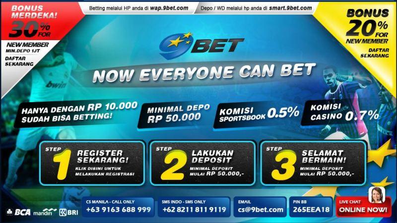 Bandar Judi Online 9BET Indonesia