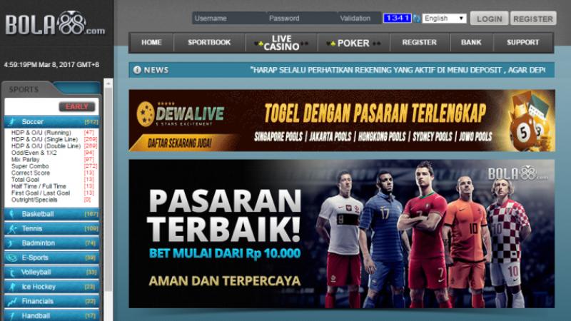 Bandar Bola88 - Situs Judi Online Indonesia